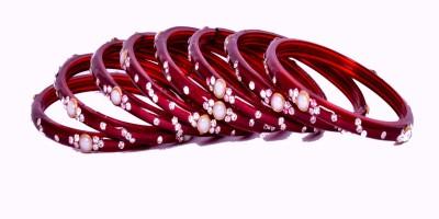 radhey radhey Glass Bracelet Set