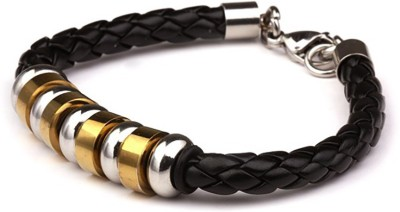 Amyra Lifestyle Stainless Steel Titanium Bracelet