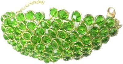 BIGSALE786 Alloy Crystal Yellow Gold Bracelet