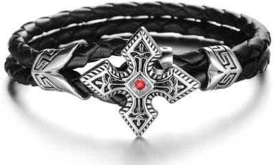 Montague Leather Bracelet