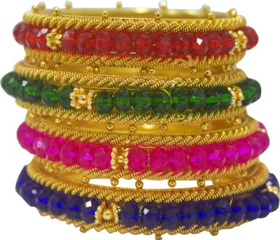 Multiline Company Alloy Bangle Set(Pack of 4) at flipkart