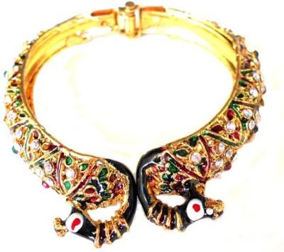 Achal Metal Crystal Enamel Bracelet