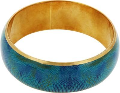 JEWEL GOSSIP Brass Yellow Gold Kada