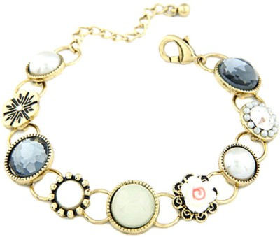 Young & Forever Alloy, Glass Bracelet