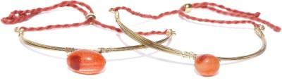 Anouk Metal Crystal Enamel Bracelet