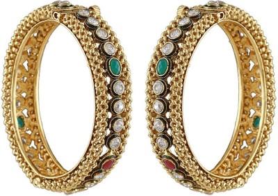 Anuradha Art Copper Bracelet Set