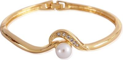 Estelle Alloy Crystal Yellow Gold Bracelet