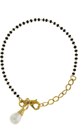 Anuradha Art Alloy 18K Yellow Gold Bracelet