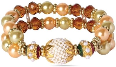 Beadworks Glass, Alloy Bracelet