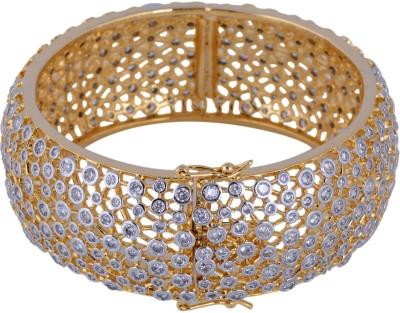 Pearls Cart Alloy Yellow Gold Bracelet