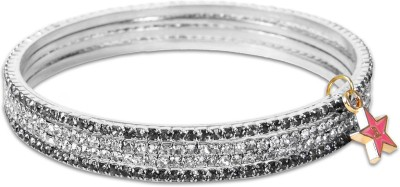Ayesha Metal Bangle Set(Pack of 4) at flipkart