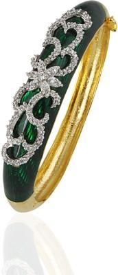 Heena Jewellery Brass, Alloy, Enamel Yellow Gold Bracelet