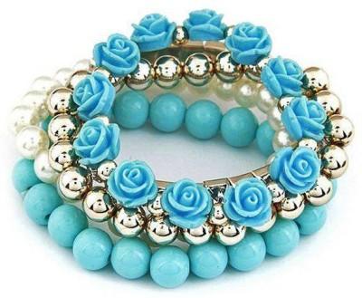 Jewel Touch Acrylic, Alloy Bracelet Set