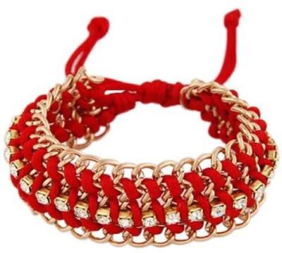 Jewel Touch Alloy, Silk Dori Bracelet