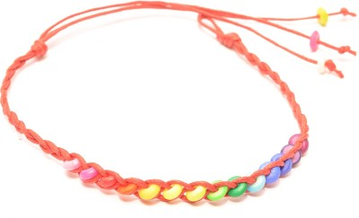 Foppish Mart Leather Beads Bracelet