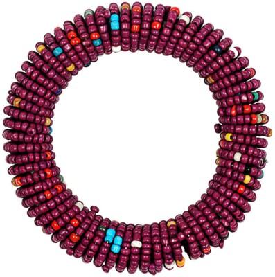 Joyeria Milan Alloy Garnet Bracelet