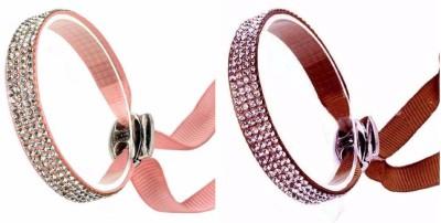 Shreya Collection Fabric Charm Bracelet