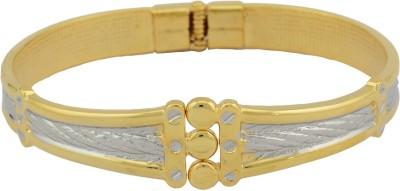 High Trendz Alloy Yellow Gold Cuff