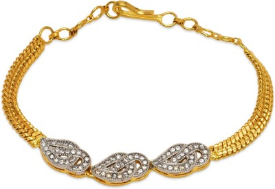 Prita Alloy Yellow Gold Bracelet