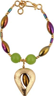 Pearlz Ocean Alloy Crystal Bracelet