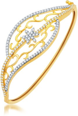 Sukkhi Alloy Yellow Gold, Rhodium Bracelet