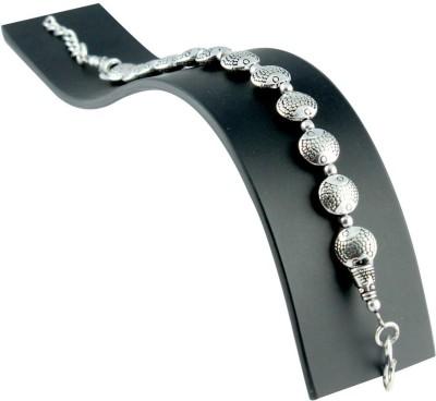 Ijuels Alloy Silver Bracelet