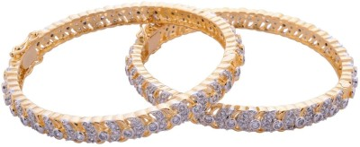 Affinity Jewellers Alloy Yellow Gold Bangle Set