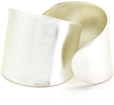 Eternz Brass Silver Cuff