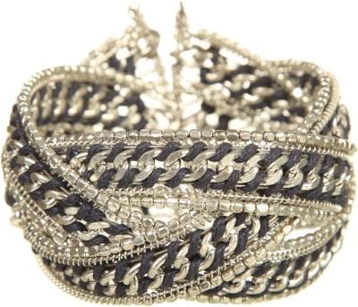 DCA Steel, Cotton Dori Silver Bracelet