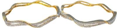 Mohfashions Brass Brass Bangle Set