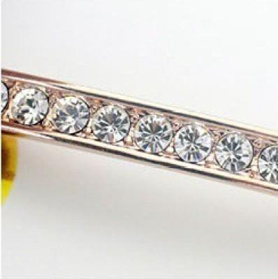 AR Italian Crystal Alloy Swarovski Crystal Platinum Bracelet