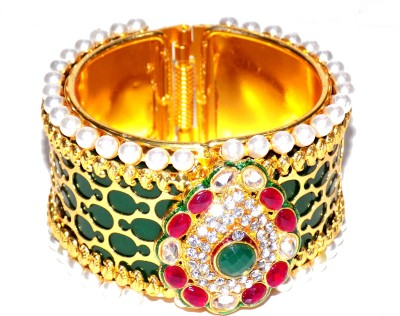 Jewels Kafe Alloy Yellow Gold Kada