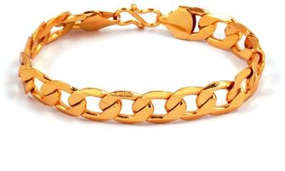 Paul Chains Alloy 22K Yellow Gold Bracelet