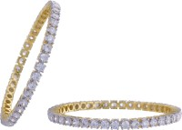 Prisha Collections Alloy Yellow Gold Bangle Set(Pack of 2) best price on Flipkart @ Rs. 1103