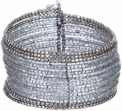 DCA Glass Rhodium Bracelet
