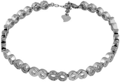 Payalwala Sterling Silver Rhodium Bracelet