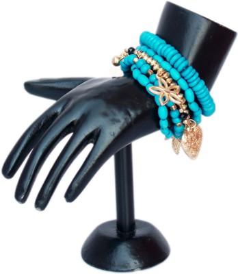 VR Designers Plastic, Bone Charm Bracelet