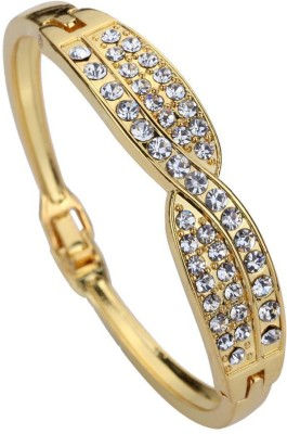 French Aura Alloy Crystal Bracelet