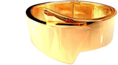 Grace Fashion Villa Alloy 23K Yellow Gold Cuff