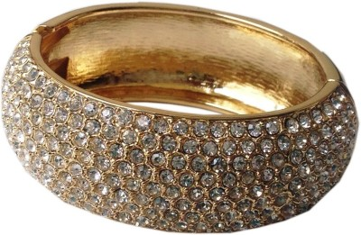Grace Fashion Villa Acrylic 23K Yellow Gold Bracelet