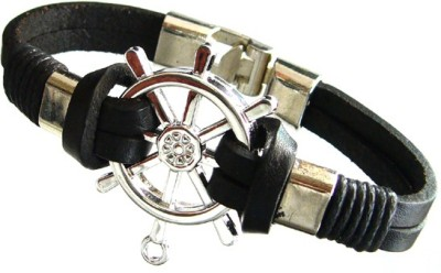 Fashion Today Leather Charm Bracelet