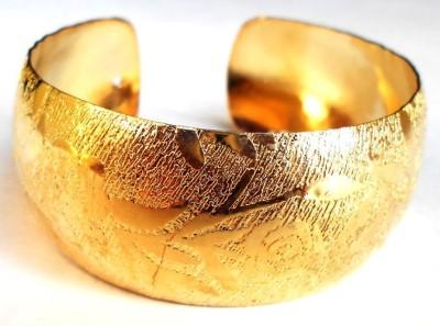 Achal Metal Yellow Gold Bracelet