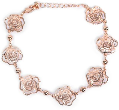 Trinetra Metal Rose Gold Bracelet