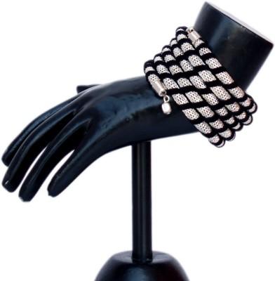 VR Designers Metal, Fabric Bracelet
