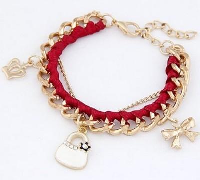 Aaishwarya Alloy Charm Bracelet