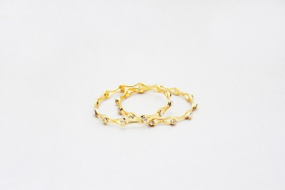 Krissa Alloy Bangle(Pack of 2)