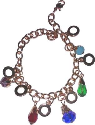 shrungarika Alloy Pearl Charm Bracelet