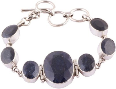 Kirti Gems Sterling Silver Sapphire Bracelet