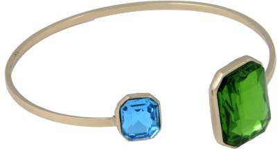 Trisha Alloy Crystal 24K Yellow Gold Bracelet