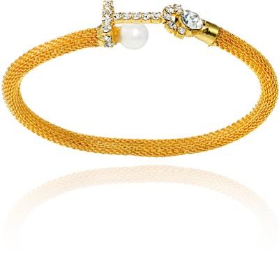 Mahi Alloy Yellow Gold Kada